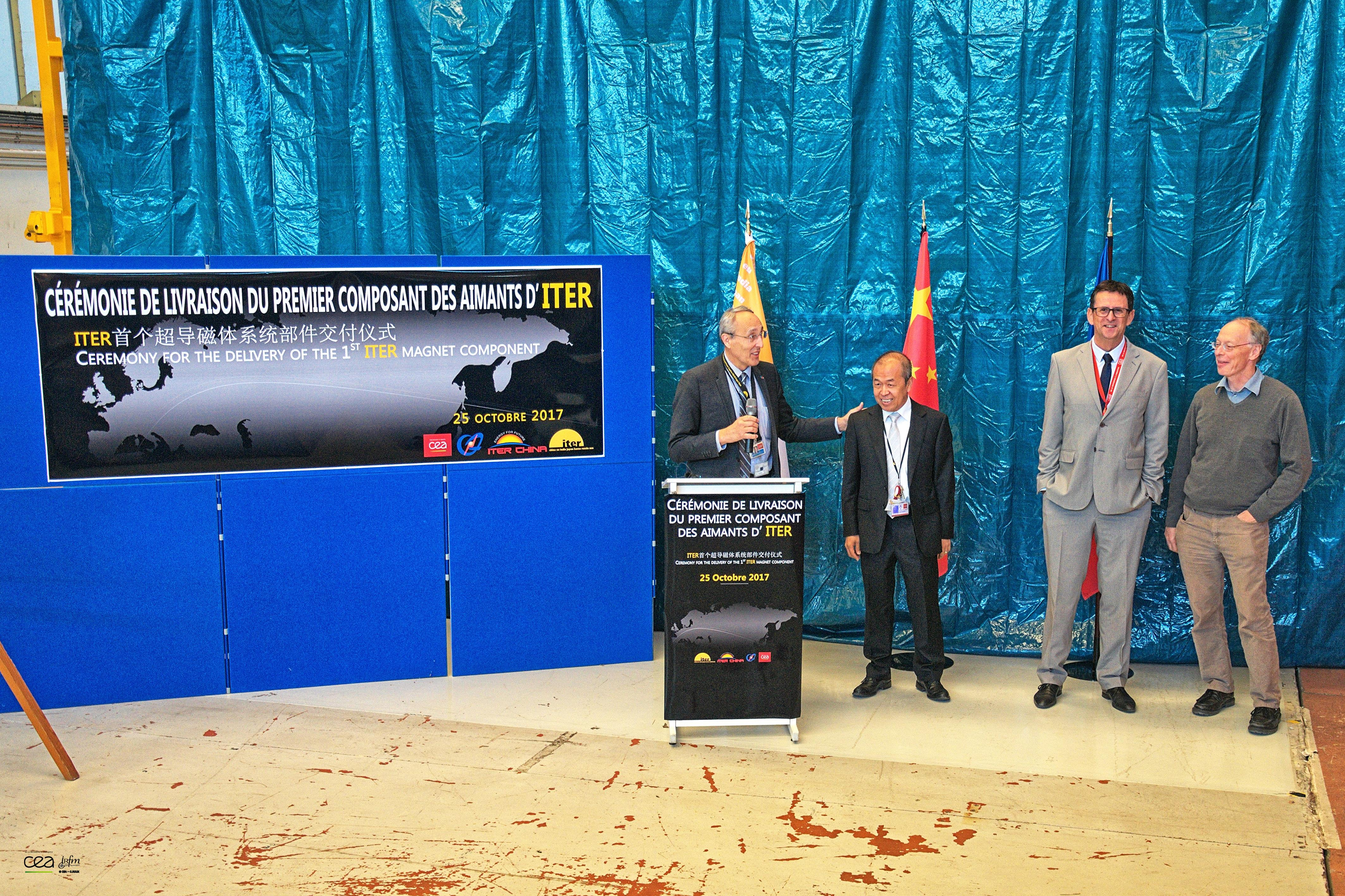 1st ITER Magnet Component Arrives in Cadarache